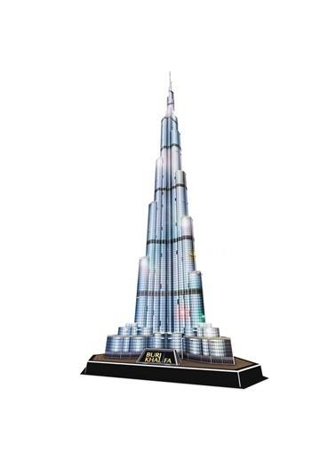 Cubic Cubic Fun 3D 136 Parça Led Puzzle Burj Khalifa Renkli